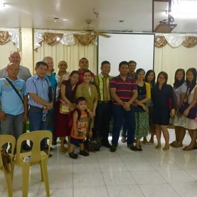 After church service in Marikina